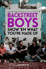 BACKSTREET BOYS: SHOW EM WHAT YOU'RE MADE OF - DVD - Region Free - Sealed