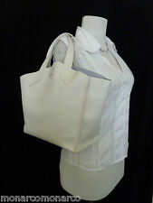 NWT FURLA Petalo/Soft White Saffiano Leather Small Jucca Stitch Tote Bag