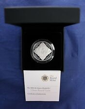 "2008 Silver Proof £5 Crown coin ""Elizabeth 1st"" in Black case with COA  (Y3/37)"