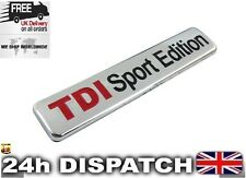 TDI Sport Edition Badge Emblem Logo Sticker VW AUDI SEAT SKODA