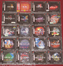 *Complete* 20x PS1 SIMPLE 1500 SERIES Games NTSC-J Japan Import Playstation