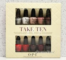 OPI TOP TAKE TEN 10pcs Favorite Kit Mini Collection 2 Set of 5 pk Pack Nail Gift