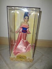 DISNEY DESIGNER PRINCESS MULAN DOLL LIMITED EDITION  NRFB 1839/6000