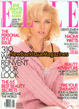 Elle 8/04,Naomi Watts,Jude Law,August 2004,NEW