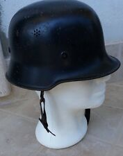 WWII-GERMAN ARMY CIVIL FORCE HELMET-ELMETTO TEDESCO-POMPIERI-POLIZIA-POLIZEI