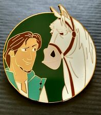 PRINCE & FRIENDS FLYNN RIDER & MAXIMUS HORSE RAPUNZEL TANGLED FANTASY PIN LE 100