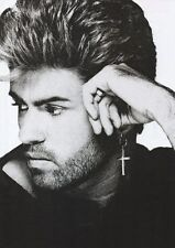 George Michael - B & W Head Shot (2) - A4 Photo Print