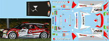 CITROEN DS3 R5 FONTES RALLY CITADE DE GUIMARAES 2015 DECALS 1/43
