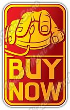 """Online Shopping Hand On Mouse Buy Gift Idea Car Bumper Vinyl Sticker Decal 6""""X3"""""""