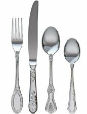 Katie Alice VINTAGE 16 piece CUTLERY SET Stainless Steel SHABBY CHIC 18/10 BOXED
