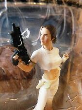 RARE FIRST SERIES? STAR WARS UNLEASHED PADME AMIDALA IN SEXY WHITE OUT FIT