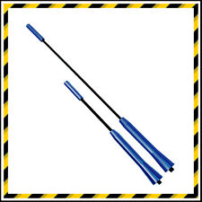 BLUE CAR ROOF AERIAL ANTENNA MAST - ADJUSTABLE LENGTHS