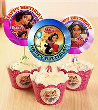 12 Elena of Avalor Birthday Inspired Party Picks, Cupcake Toppers Set #1