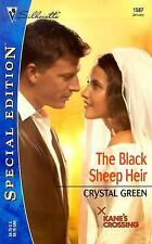 The Black Sheep Heir by Crystal Green (2004, Paperback)