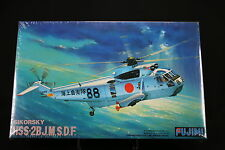 XA081 FUJIMI 1/72 maquette Q7 - 1000 Helicoptere Sikorsky HSS-2BJ.M.S.D.F.