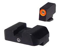 AMERIGLO Pro I Dot Orange Night Sights for Glock 26 27 33 39 9mm 40cal .357