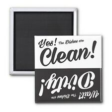 Clean/Dirty-Household Dishwasher Magnet