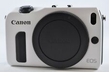 [Exc⁺⁺] CANON EOS M 18.0 MP White (Body) Mirrorless Digital SLR Camera