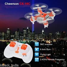 Cheerson CX-10C Mini Drone 2.4G 4CH 6 Axis Gyro with Camera Remote Control