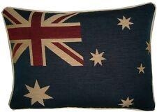 Australian Australia Flag Oblong Woven Tapestry Cushion Cover