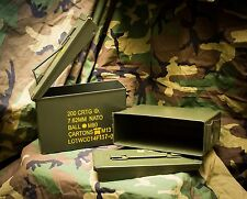 Ammo Can Qty 2 $10 Ea 30 Cal 7.62 NATO 200 Rd  M19A1 Grade 1A LIMITED TIME OFFER