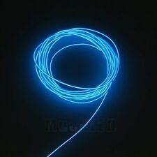 15ft Neon LED Light Glow EL Wire String Strip Rope Tube Decor Party + Controller
