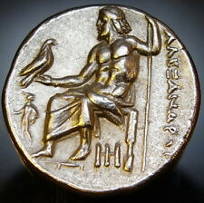 Alexander the Great.MS Drachm Lifetime issue.Exceptional Rare Ancient Greek coin