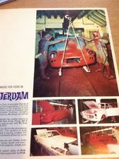 Ephemera 1965 1 Page Amsterdam Ford Automobiel Fabriek Spray Booths M479
