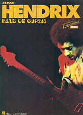 """JIMI HENDRIX """" BAND OF GYPSYS """" TRANSCRIBED SCORES BASS/GUITAR/VOCALS/DRUMS"""