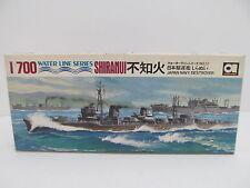 MES-44696 Aoshima DO57 1:700 Shiranui Destroyer Bausatz geöffnet,
