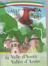folder postali l italia e le sue regioni - la valle d aosta - 2008