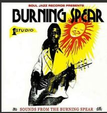 "Sounds From The Burning Spear LP Vinyl 2x12"" Soul Jazz Rare!"