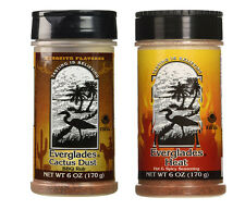2- Everglades Seasonings Cactus Dust NO MSG Mesquite  Hot & Spicy HEAT BBQ Rub!