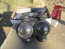 FORD MODEL A T KEROSENE COWL LAMPS PAIR EDMUND JONES ???