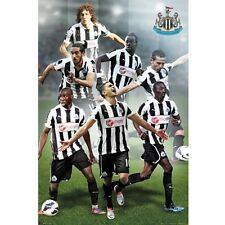 Newcastle United Players Poster English Premier League new The Magpies EPL Toon