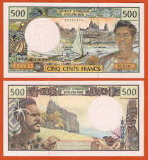 P1d   French Pacific Territories  500 Francs  1992   UNC