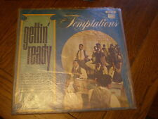 The Temptations LP Gettin Ready UK BACKFLAPS