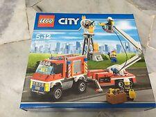 LEGO City Fire Utility Truck Set 60111 New MISB
