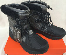 "Bearpaw Bethany 1845W Wool Blend Sheepskin Waterproof 6"" Winter Boots Women's 10"