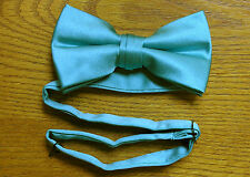 Bow Tie Satin Pre Tied Baja Blue Steampunk Tuxedo Wedding Prom Groom Cosplay