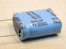 0,22F Farad 5Vcc super condensatore