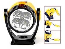 Autolampe Zigarettenanzünder Magnet 12V 5 LED Autozubehör Spotlight sehr hell