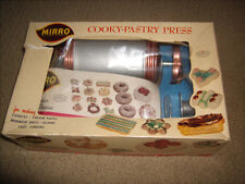 Mirro Cookie Pastry Press with Box & Instruction Recipe Booklet  Model 358-AM