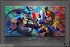 Oil Painting on Canvas Art Large Abstract Picture Wall Decor 48'' (No Frame)