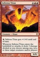 1X Inferno Titan -LP- Commander 2013  MTG  Magic Cards  Red Rare