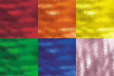 (12) 8 x 10 Stained Glass Color Variety Pack Stained Glass Sheets Supplies