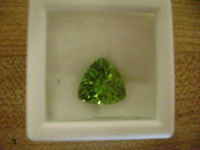 Natural Apple Green Peridot Trillion 7mm Lot of 2 Stones Ebays Best Deal