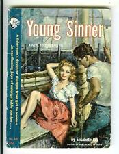 YOUNG SINNER by Gill, rare US Cameo #333 sleaze gga digest pulp vintage pb