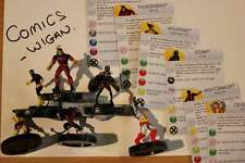 Marvel Heroclix Uncanny X-Men ##001#002#003#004#006#021 xmen team set