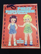 1941 Original Vintage Polly Patchwork And Her Friends Paper Dolls Uncut
